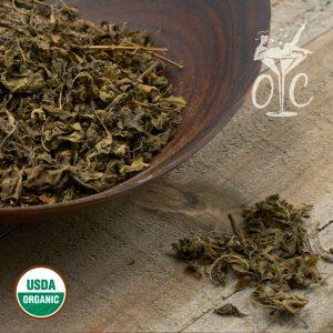 USDA Certified Organic Basil Leaf C/S