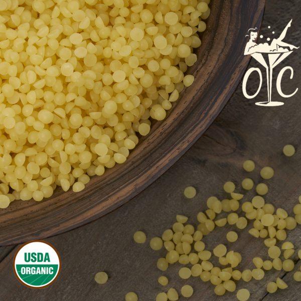 USDA Certified Beeswax Pastilles, Yellow