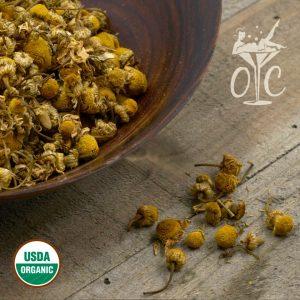 USDA Certified Organic Chamomile Flowers Whole