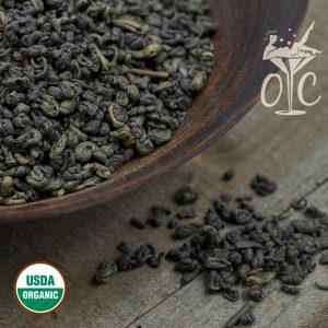 USDA Certified Organic Gunpowder Green Tea