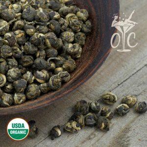 USDA Certified Organic Jasmine Pearls